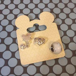Disney Magic Kingdom Park Silver Pandora Charms
